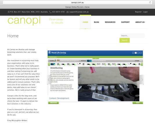 Canopi Online